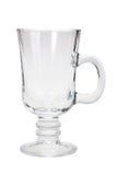 Single empty glass Stock Photo