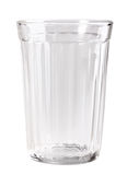 Single empty glass Stock Image