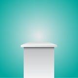 Single empty pedestal eps 10  Royalty Free Stock Image