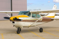Single Engine Airplane Stock Image