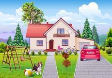 Single Family Dream Life Royalty Free Stock Image