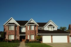 Single Family Home Royalty Free Stock Image