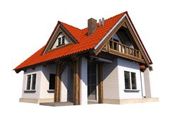 Single Family Home Stock Photography