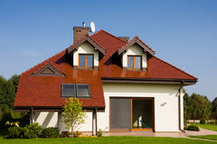 Single family house stock images