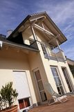 Single Family house. Details of a new european single family house Royalty Free Stock Photo