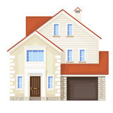 Single family house Stock Photography