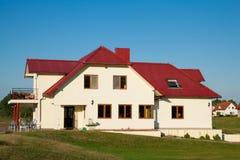 Single family meduim size house Stock Photo