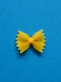 Single farfalle pasta Stock Photography