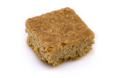 A single flapjack square Royalty Free Stock Photos