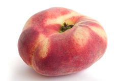 Single flat peach Royalty Free Stock Photos