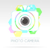 Single Flat Photo Camera Icon Royalty Free Stock Image