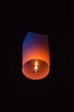 Single Floating Lantern royalty free stock photo