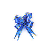 Single foldable tape bow isolated Royalty Free Stock Photography