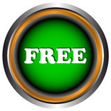Single free icon Royalty Free Stock Images