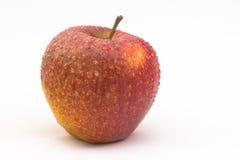 Single fresh apple. Isolated on white background Royalty Free Stock Image