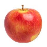 Single fresh apple on white Stock Photo