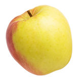 Single fresh apple on white Royalty Free Stock Image