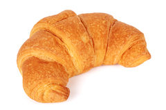 Single fresh croissant royalty free stock image