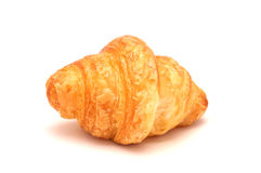 Single fresh croissant Royalty Free Stock Photography