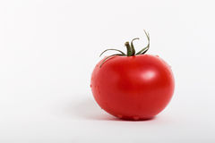 Single fresh tomato Royalty Free Stock Images