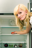 Single fridge Stock Images
