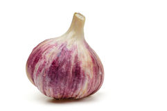 Single garlic Stock Photos