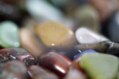 Single gemstones in front Stock Photos