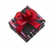Single gift box Stock Photo
