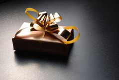 A single gift box Stock Photography