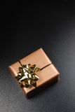 A single gift box Royalty Free Stock Image