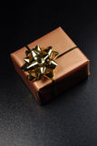A single gift box Royalty Free Stock Photography