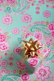 Single gift box Royalty Free Stock Images