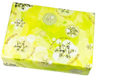 Single gift box Royalty Free Stock Image