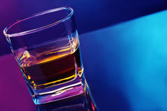 Scotch glass Royalty Free Stock Images
