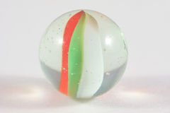 Single glass marble Stock Image