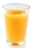 Single glass of orange juice Stock Image