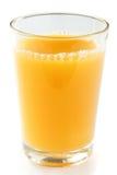 Single glass of orange juice Stock Image