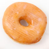 Single Glazed Doughnut Royalty Free Stock Photo