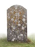 Single grave stone Stock Photography