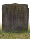 Single grave stone Stock Images