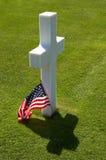 Single grave among thousands Royalty Free Stock Image