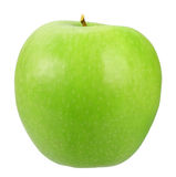 Single a green apple Royalty Free Stock Photography