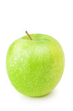 Green Apple. Single Green Apple Over The White Background Stock Images