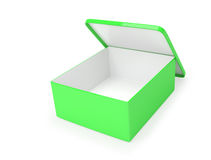 Single green box Royalty Free Stock Images