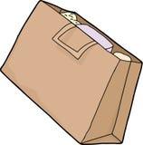 Single Grocery Bag Royalty Free Stock Photos