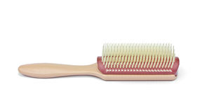 Single hair brush Stock Photos