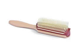 Single hair brush Stock Image