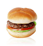Single Hamburger Stock Photos