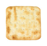 Single Hard Cracker Overhead View Royalty Free Stock Image