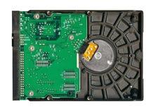 Single hard drive isolated royalty free stock photography
